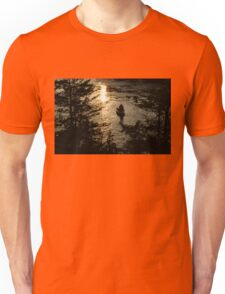 Fishing at Sunset - Thousand Islands, Saint Lawrence River Unisex T-Shirt