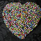 Beaded Heart by queenbeecc