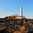 Whitley Bay Lighthouse by michaelrstewart