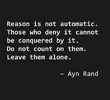 Ayn Rand quote [white] by acree10