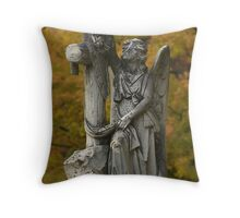 Angels will lift you up Throw Pillow
