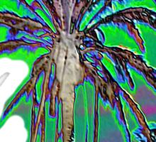 Multi Palms Sticker