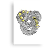 Roller Knot Canvas Print