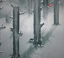 The Woods in Winter by Sybille Sterk