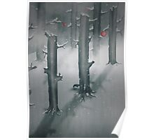 The Woods in Winter Poster