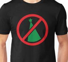 NO CHRISTMAS this year Christmas tree strikeout! Unisex T-Shirt