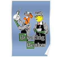 Breaking Beaker Poster