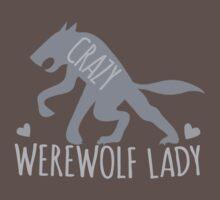 Crazy Werewolf Lady Kids Clothes