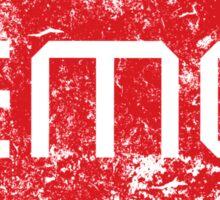 EMG Pickups distressed logo Sticker