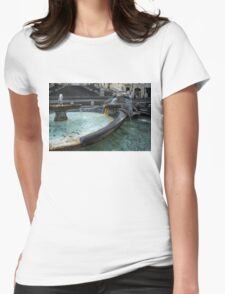 Almost Empty Spanish Steps in Rome T-Shirt