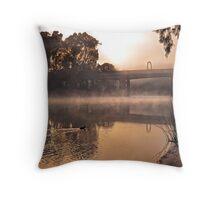 Misty Murray Morn Throw Pillow