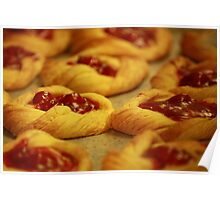 Fresh Baked Cherry Danish Poster