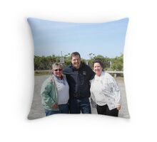 The Gang!   Redbubblers Throw Pillow