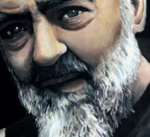 Saint Pio from Pietrelcina Sticker