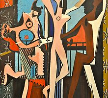 The three Dancers 1927 by Bagito
