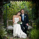 Mike and Mala Treloar, Wedding photo by Paul Mercer-People
