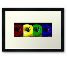An Apple for Warhol Framed Print