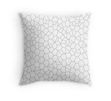 Geometric vector pattern Throw Pillow