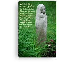 Hail Mary.... Canvas Print