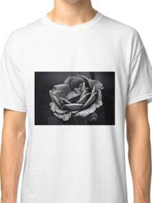 Mysterious Rose Black/White Classic T-Shirt