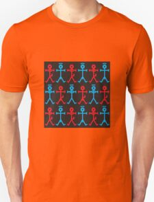 Angel and Devil Icon Patttern Unisex T-Shirt