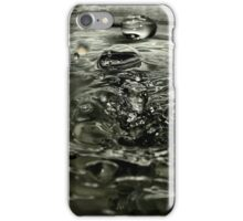Different Spheres of Water iPhone Case/Skin