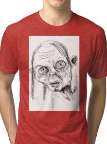 Smeagol/Gollum Tri-blend T-Shirt