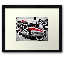 Some Candy Talking Framed Print