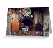 Cottage Hearth Greeting Card