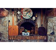 Cottage Hearth Photographic Print