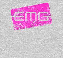 EMG Pickups distressed logo Pink T-Shirt