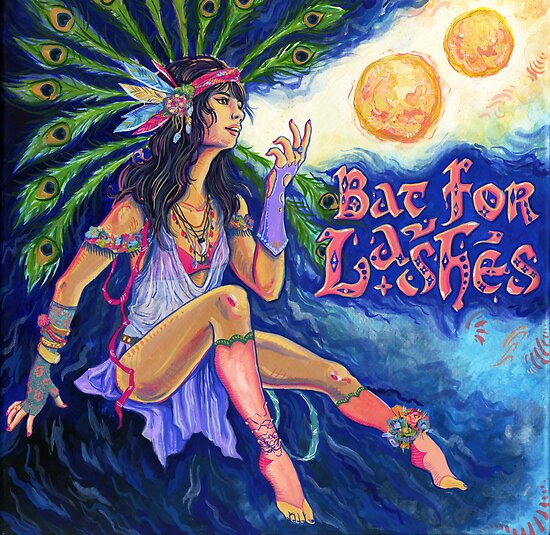 Bat For Lashes - Two Suns by Seahorse Carousel