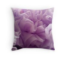 Purple Tutu Throw Pillow