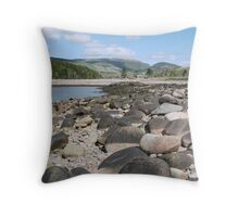 Cadillac and Dorr Mountains, Acadia National Park, ME Throw Pillow