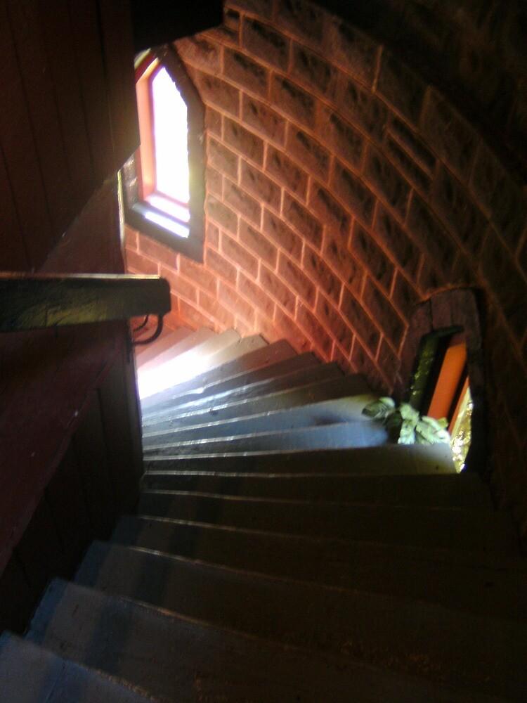 Tower Stair - Kryal Castle (Ballarat ) by adgray