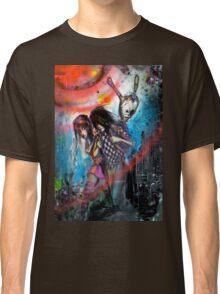 Blue Jean Anarchy  Classic T-Shirt