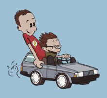 Leonard and Sheldon by zomboy