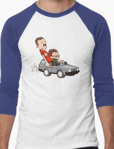 Leonard and Sheldon Men's Baseball ¾ T-Shirt
