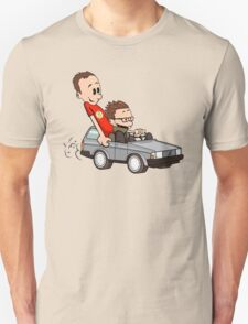 Leonard and Sheldon Unisex T-Shirt