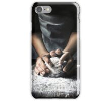 With my mother's hands iPhone Case/Skin