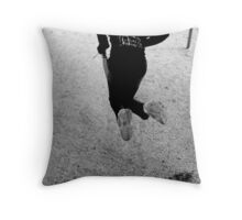 Determined to FLY! Throw Pillow