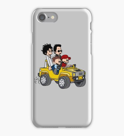 Hitting Queens Boulevard iPhone Case/Skin