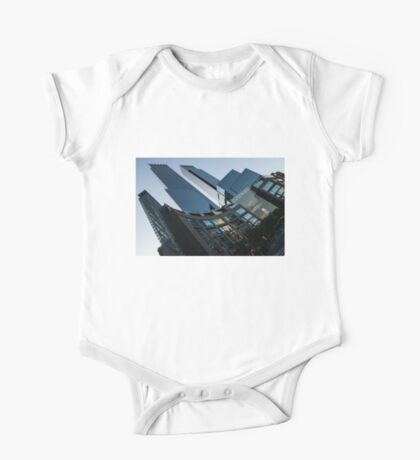 New York Curves and Skyscrapers One Piece - Short Sleeve