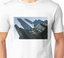 New York Curves and Skyscrapers Unisex T-Shirt
