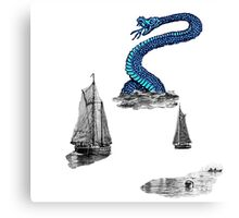 Sea Monster. Canvas Print