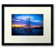 Sydney twilight Framed Print