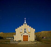 Church at San Luis by Mitchell Tillison