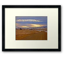 Warm Front on the Prairies Framed Print