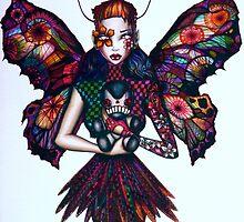 Butterfly Girl by jamestannockart