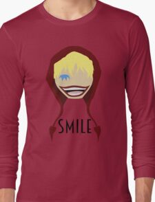 """Corazon Full Toothed """"Smile"""" Long Sleeve T-Shirt"""